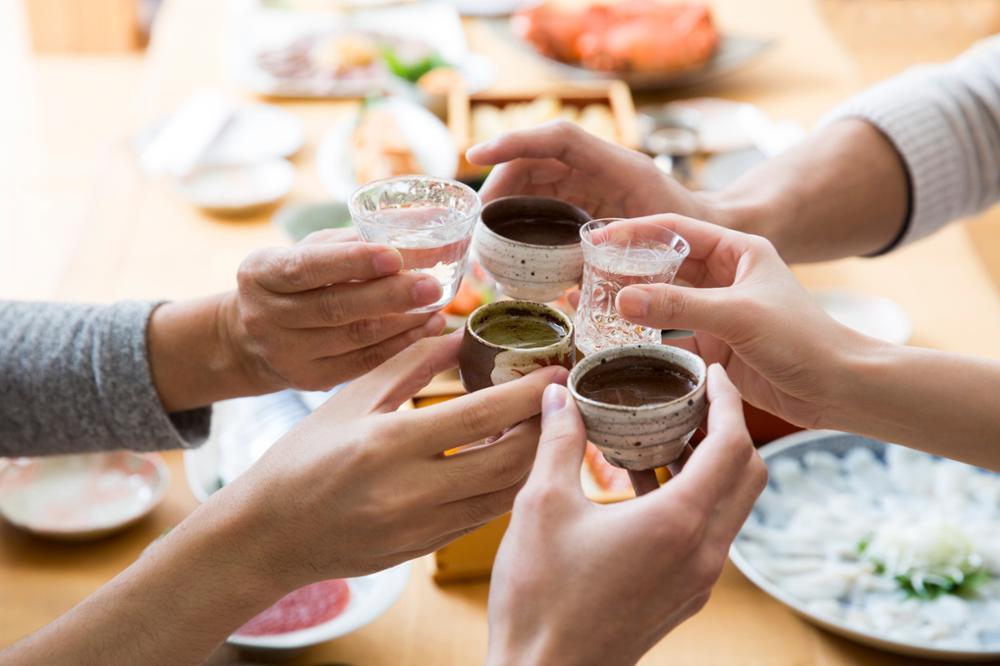 La dégustation du Saké